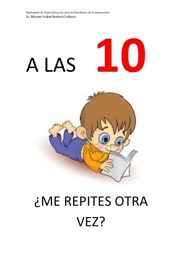 Rimas De Numeros Del 1 Al 10 Para Niños Hay Niños