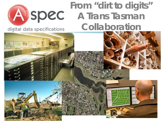 """From """"dirt to digits""""  A Trans Tasman   Collaboration"""