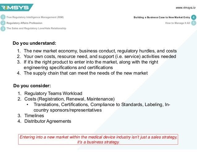 Regulatory Intelligence (Mis)Management in the Medical
