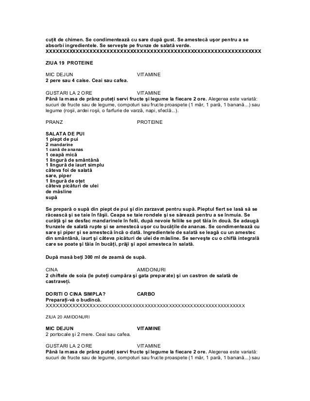 tabel mentinere rina