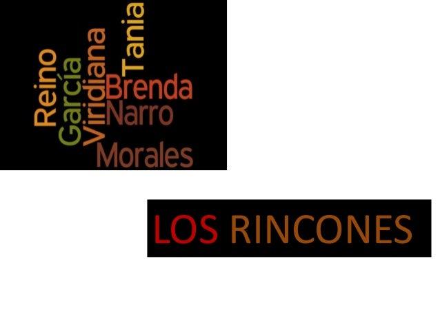 LOS RINCONES