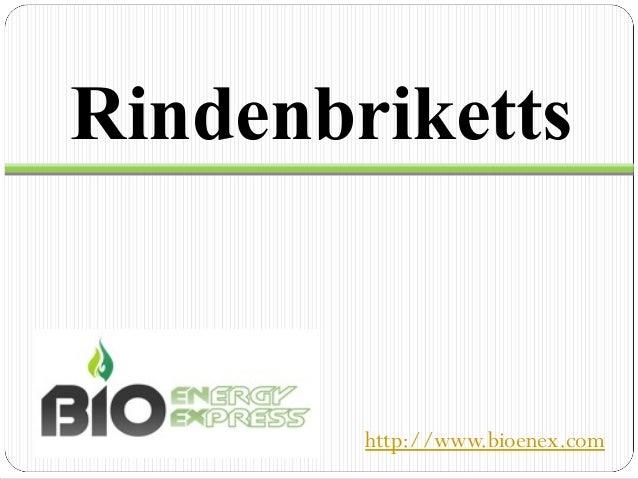Rindenbriketts        http://www.bioenex.com