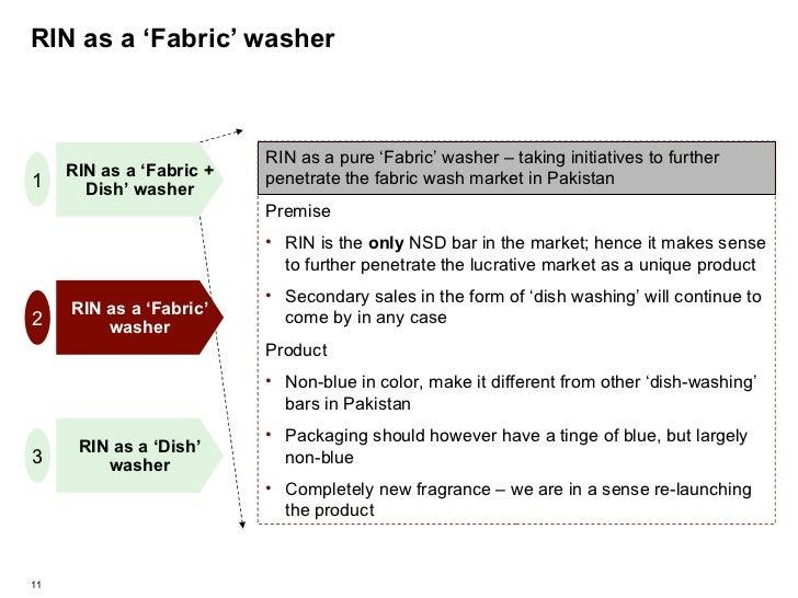 RIN as a 'Fabric' washer RIN as a 'Fabric' washer RIN as a 'Fabric + Dish' washer RIN as a 'Dish' washer 1 2 3 <ul><li>RIN...