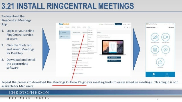 Ring central meetings