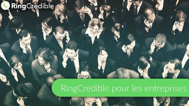 RingCredible pour les entreprises