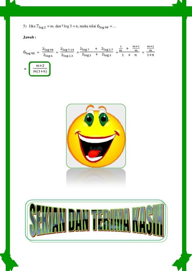 Ringkasan Materi Matematika Sd Kelas 6 Semester 1