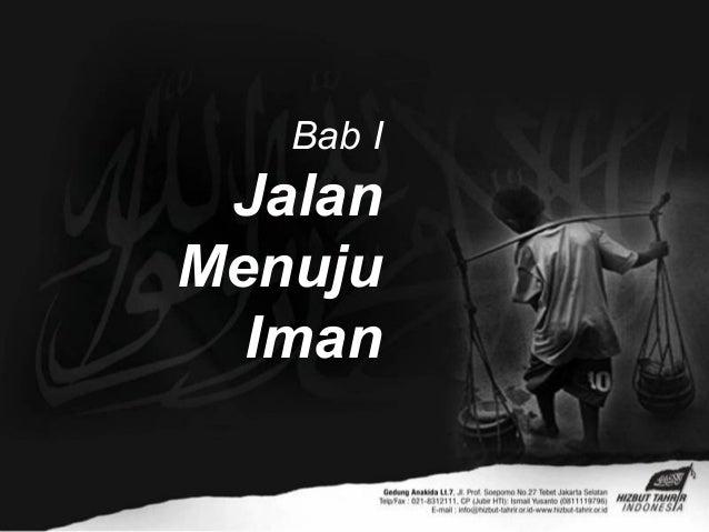 Bab IJalanMenujuIman