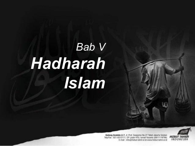 Bab VHadharahIslam