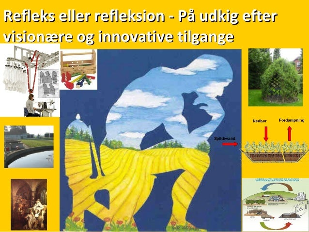 Refleks eller refleksion - På udkig efterRefleks eller refleksion - På udkig efter visionære og innovative tilgangevisionæ...