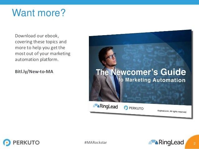How to Be a Marketing Automation Rockstar Slide 2