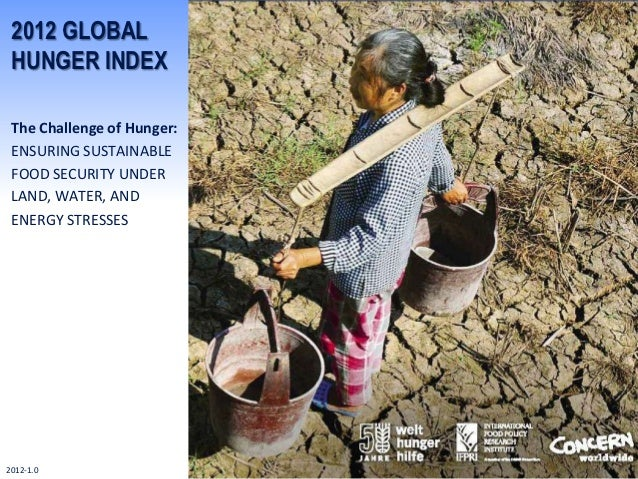 2012 GLOBAL HUNGER INDEX The Challenge of Hunger: ENSURING SUSTAINABLE FOOD SECURITY UNDER LAND, WATER, AND ENERGY STRESSE...