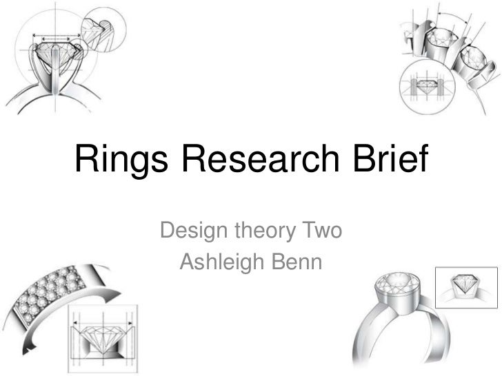 Rings Research Brief    Design theory Two     Ashleigh Benn