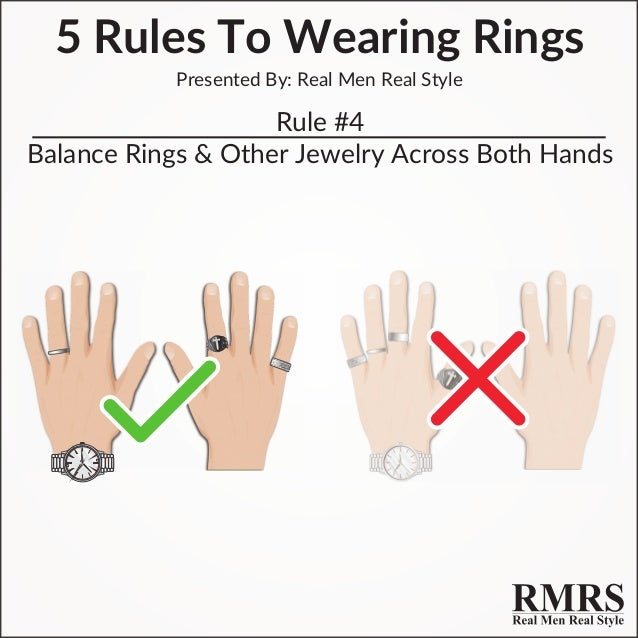 5 rules to wearing rings for men fine tailored Which finger to wear ring for single