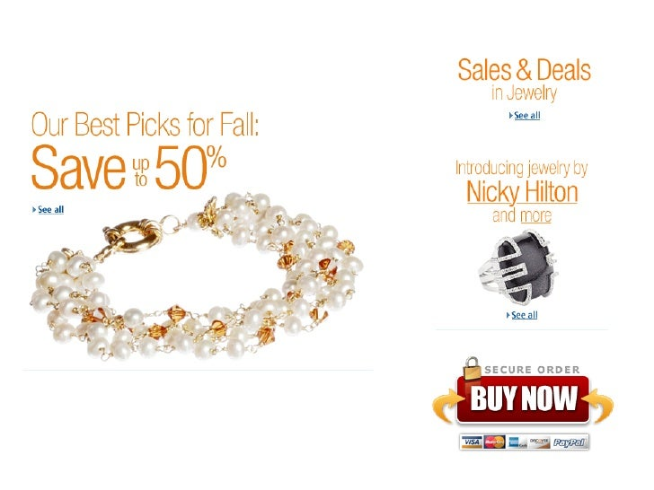 Our Fall Picks: Save up to 50% Jewelry