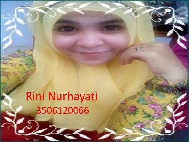 Rini Nurhayati 3506120066