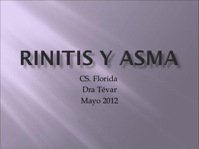 CS. FloridaDra TévarMayo 2012