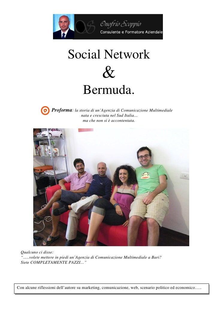 Rino scoppio   social network & bermuda