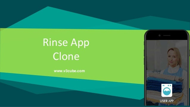 Rinse App Clone www.v3cube.com