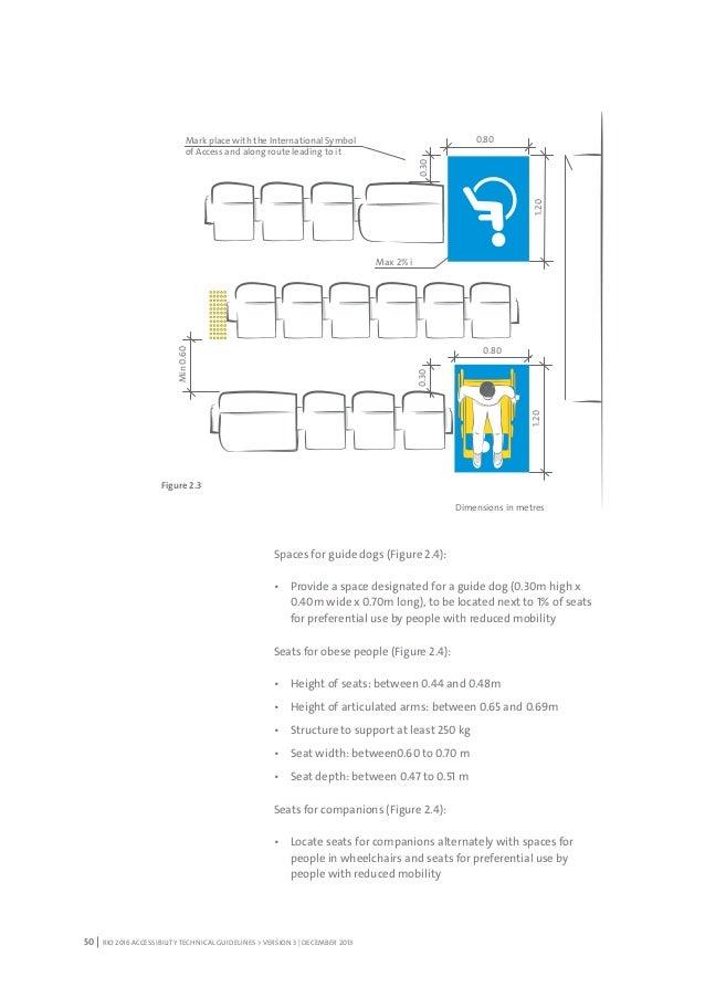 Rio 2016 Accessibility Guidelines English Version