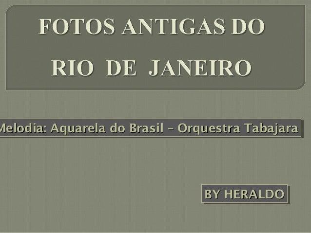 Melodia: Aquarela do Brasil – Orquestra Tabajara Melodia: Aquarela do Brasil – Orquestra Tabajara  BY HERALDO BY HERALDO