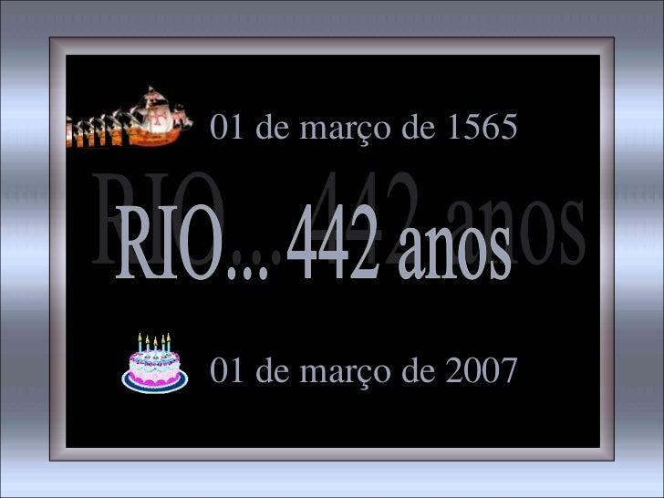 01 de março de 156501 de março de 2007