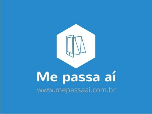 Rio Info 2015 - Salão da Inovação - Rio de Janeiro Interior - Luís Gustavo Borges - Me passa aí