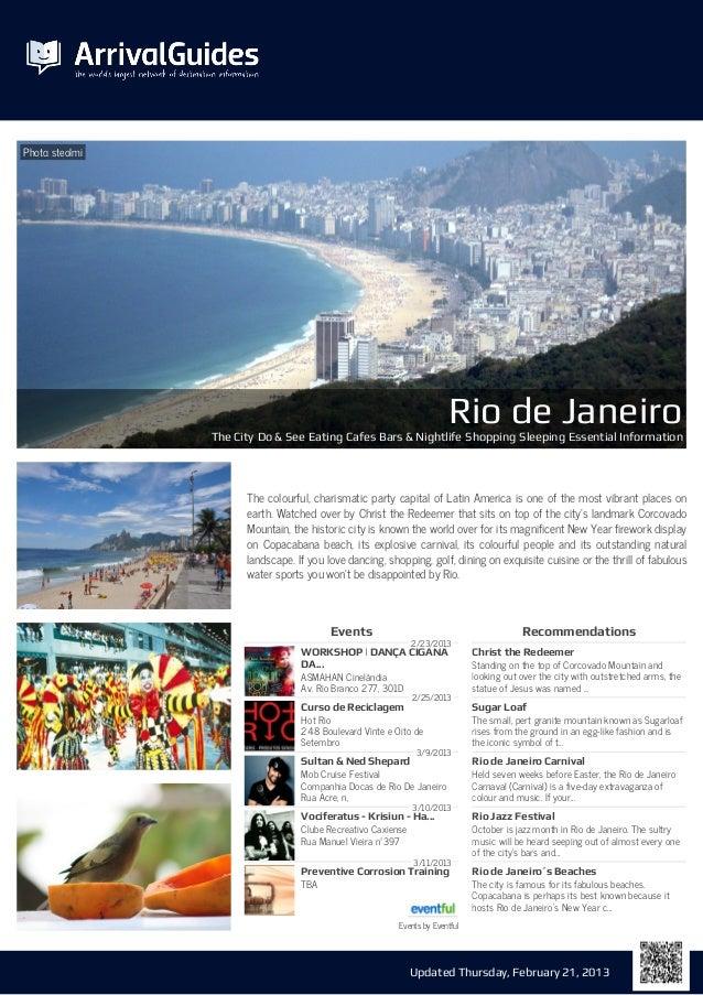 Photo: steolmi                                                                        Rio de Janeiro                 The C...
