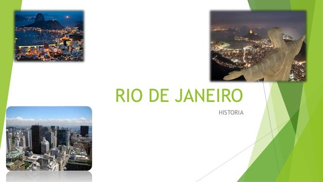 RIO DE JANEIRO HISTORIA
