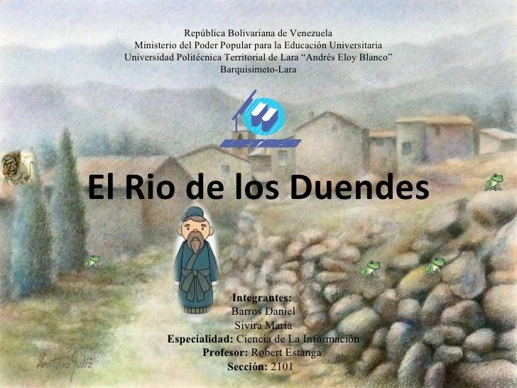 República Bolivariana de Venezuela    Ministerio del Poder Popular para la Educación Universitaria  Universidad Politécnic...