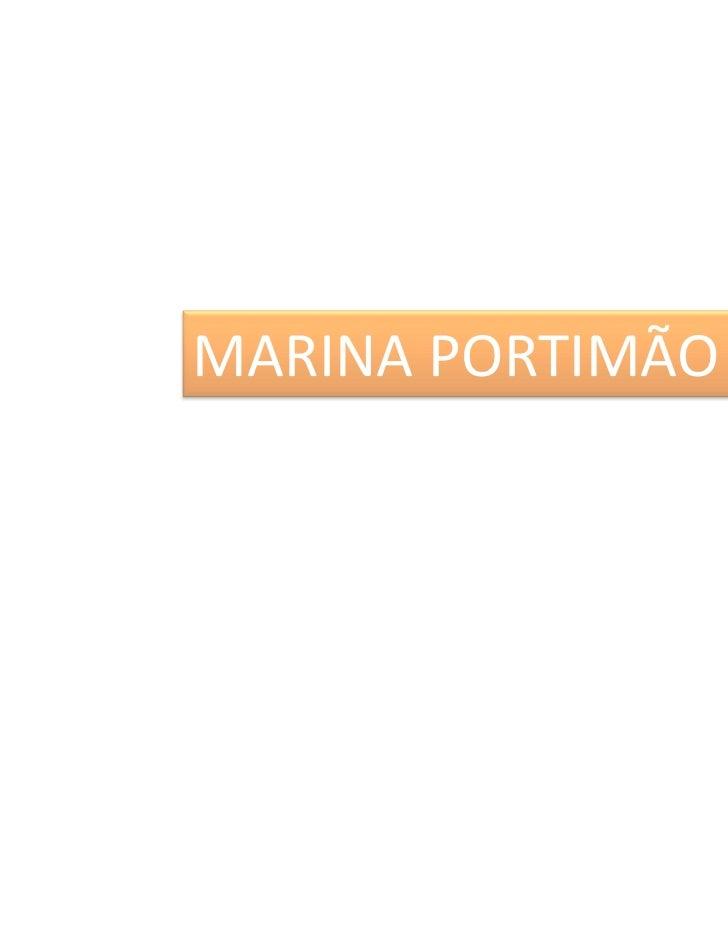 MARINA PORTIMÃO