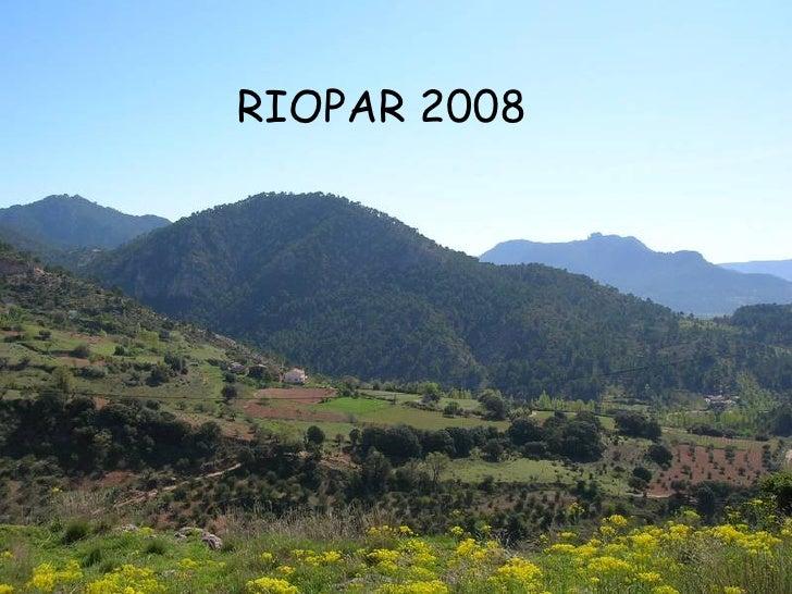 RIOPAR 2008