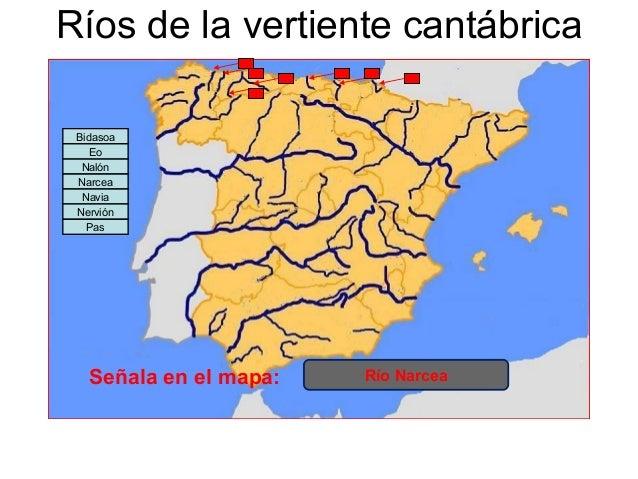Rios De La Vertiente Cantabrica
