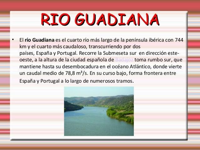Rios y deltas de España