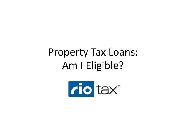Rio Tax Loans