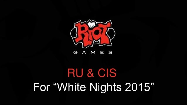 "RU & CIS For ""White Nights 2015"""