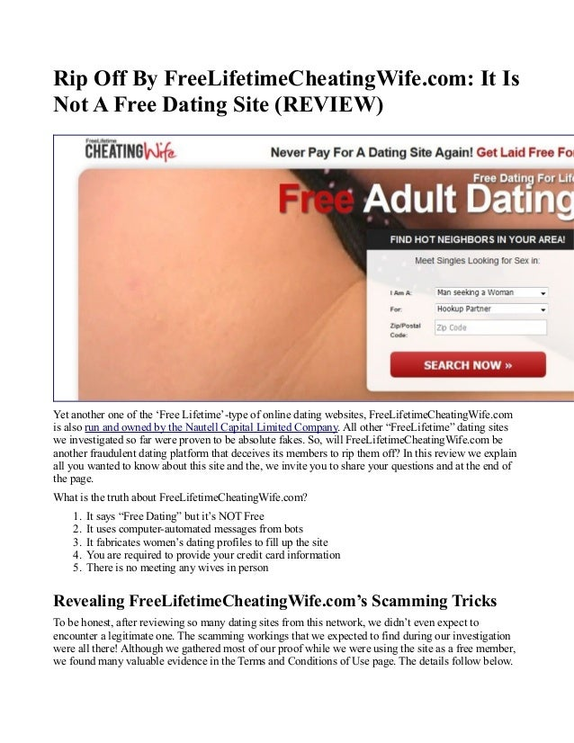 How dating sites rip you off