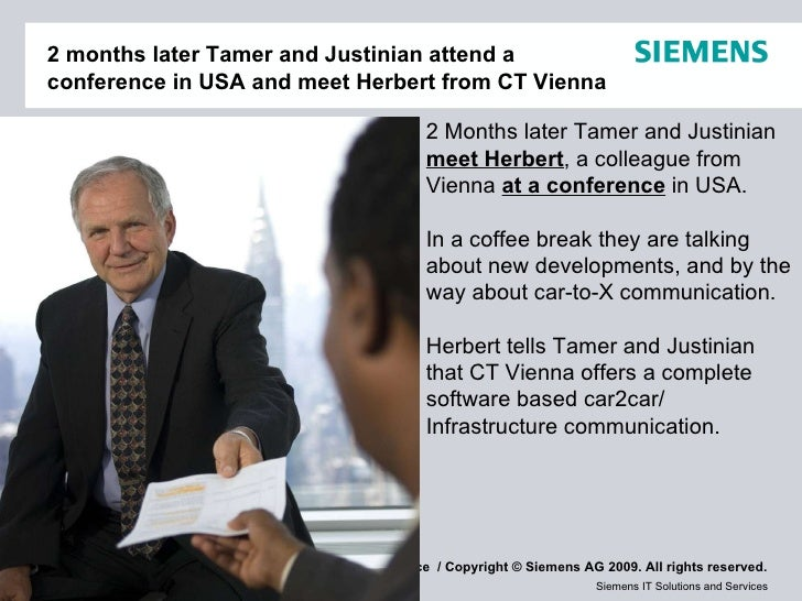2 months later Tamer and Justinian attend a conference in USA and meet Herbert from CT Vienna 2 Months later Tamer and Jus...