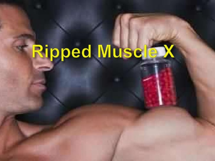 Ripped muscle x presentation