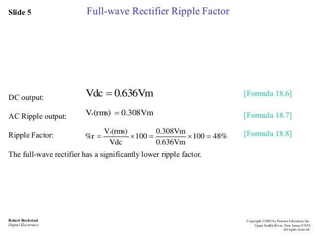 Ripple factor