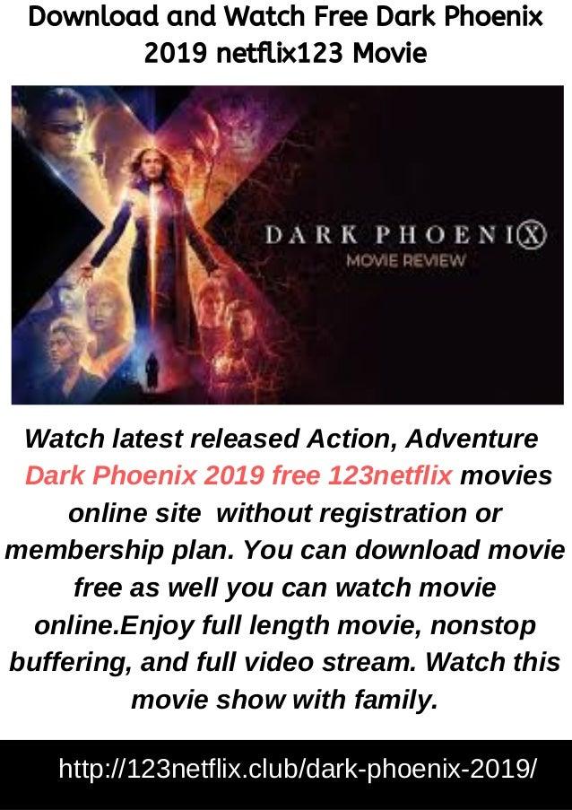 Download and Watch Free Dark Phoenix 2019 netflix123 Movie