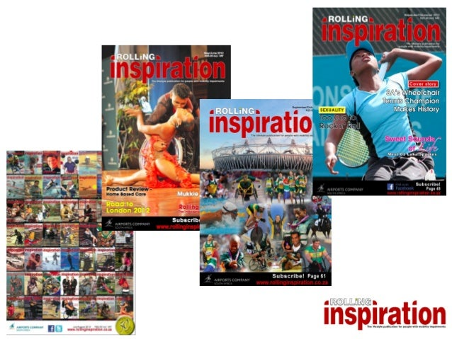 Who is Rolling Inspiration for?• People, companies or organisations who   meet   meet    know           know     treat    ...
