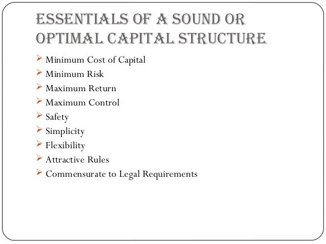 theories of capital structure Click to launch & play an online audio visual presentation by prof vidhan k goyal on traditional theories of capital structure: trade-off versus pecking order, part of a collection of online lectures.