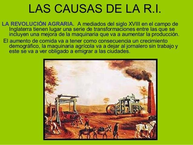 Revoluci n industrial y agraria for Maquinaria y utensilios para la produccion culinaria