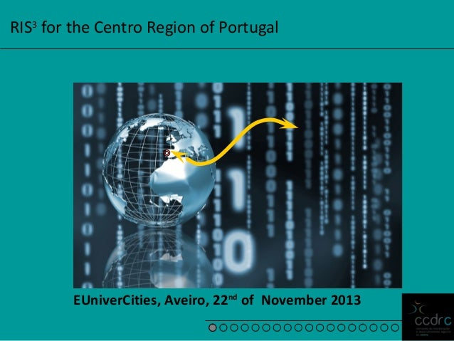 RIS3 for the Centro Region of Portugal  EUniverCities, Aveiro, 22nd of November 2013