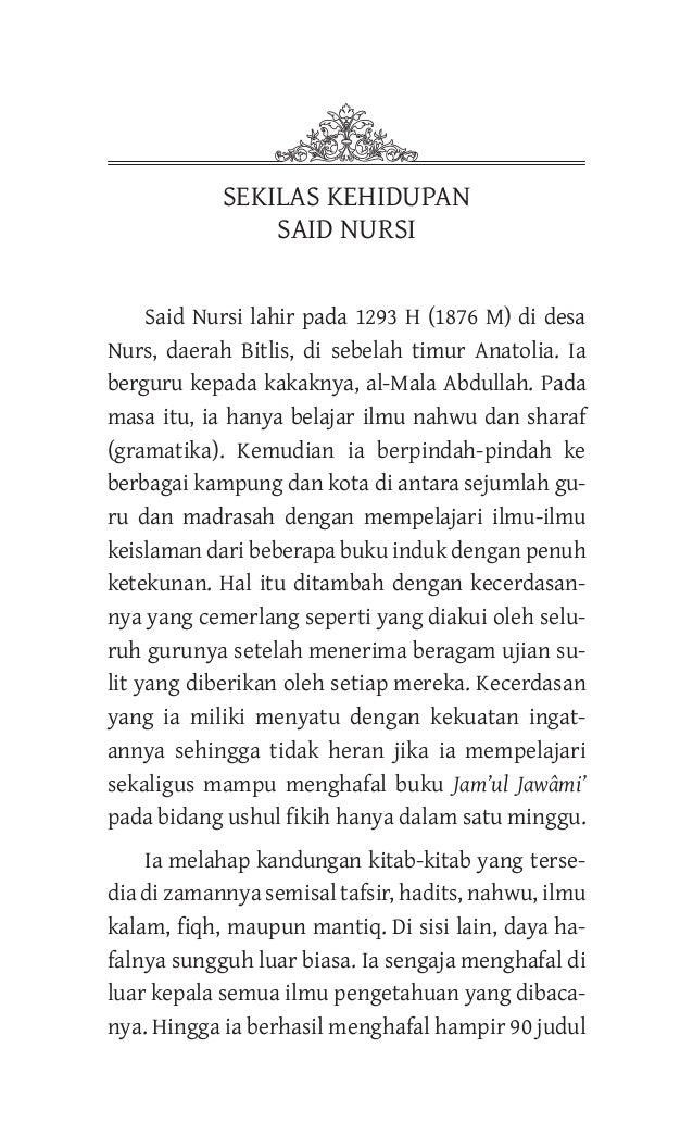 Said Nursi Pdf