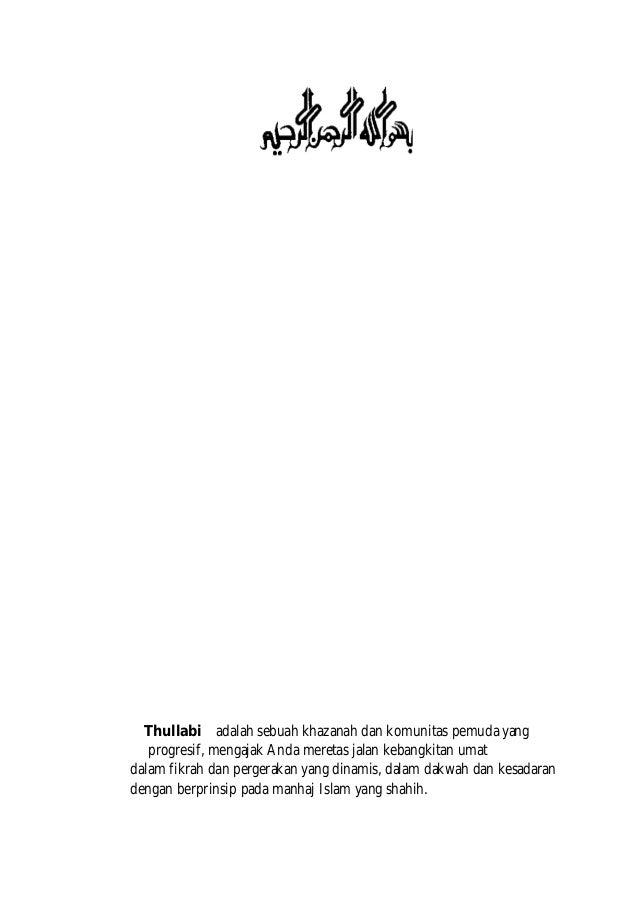 RISALAH PERGERAKAN PEMUDA ISLAM PDF DOWNLOAD