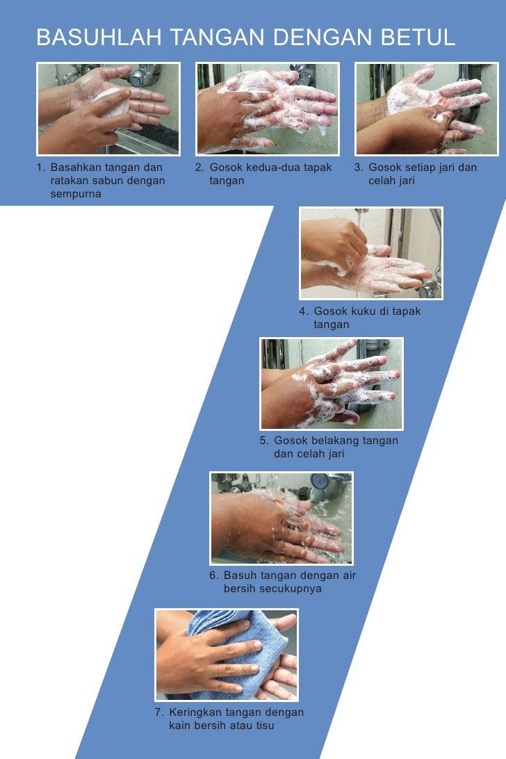 Cara Basuh Tangan Yang Betul