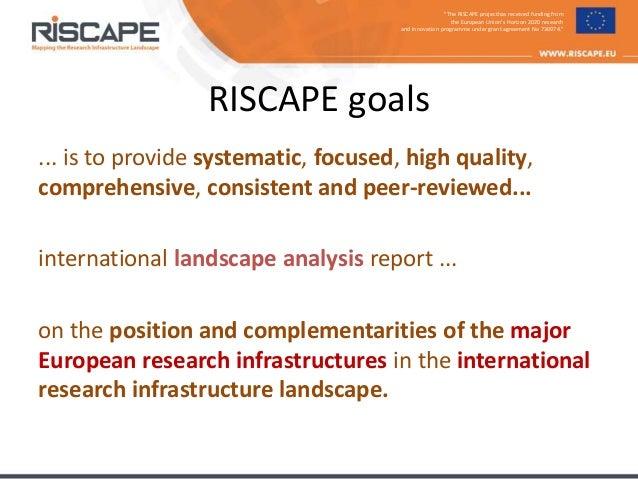 RISCAPE at COOP+ 2018 - presentation by Ari Asmi Slide 3