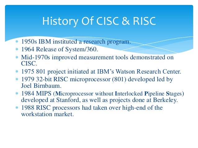 risc sisc Title: risc vs cisc author: richard smith created date: 4/29/2017 6:21:50 pm.