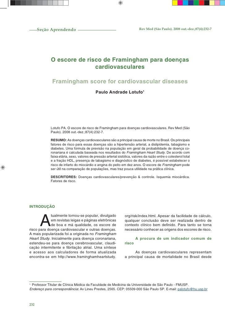 Seção Aprendendo                                                      Rev Med (São Paulo). 2008 out.-dez.;87(4):232-7     ...